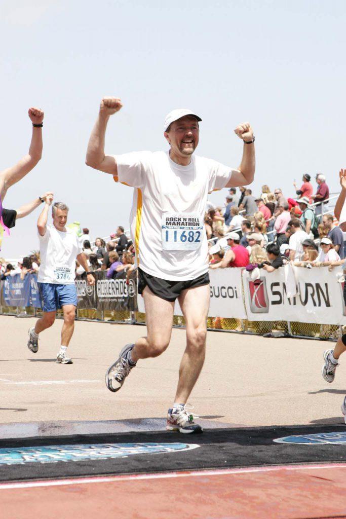 Dr. Payne, Rock and Roll Marathon 2007