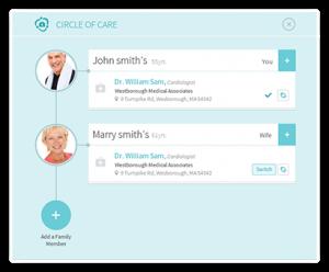 Circle of Care Healow app