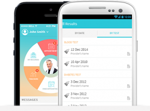 Manage your health records in the app